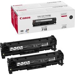 Originální toner Canon CRG-718Bk (2662B005), dvojbalení