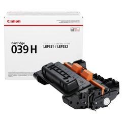 Originální toner Canon 039H (0288C001), černý