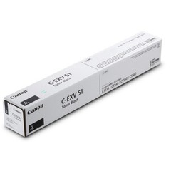 Originální toner Canon C-EXV51Bk (0481C002), černý