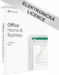 Microsoft Office 2019 pro domácnosti a podnikatele, CZ, T5D-03195