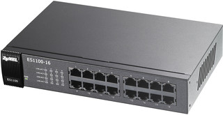 ZyXEL ES1100-16 Switch, 16 port