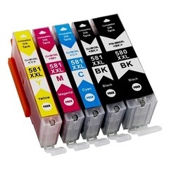 Kompatibilní inkousty s Canon PGI-580BK XXL + CLI-581XXL BK/C/M/Y
