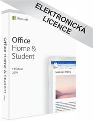 Microsoft Office 2019 pro domácnosti a studenty, CZ, 79G-05018